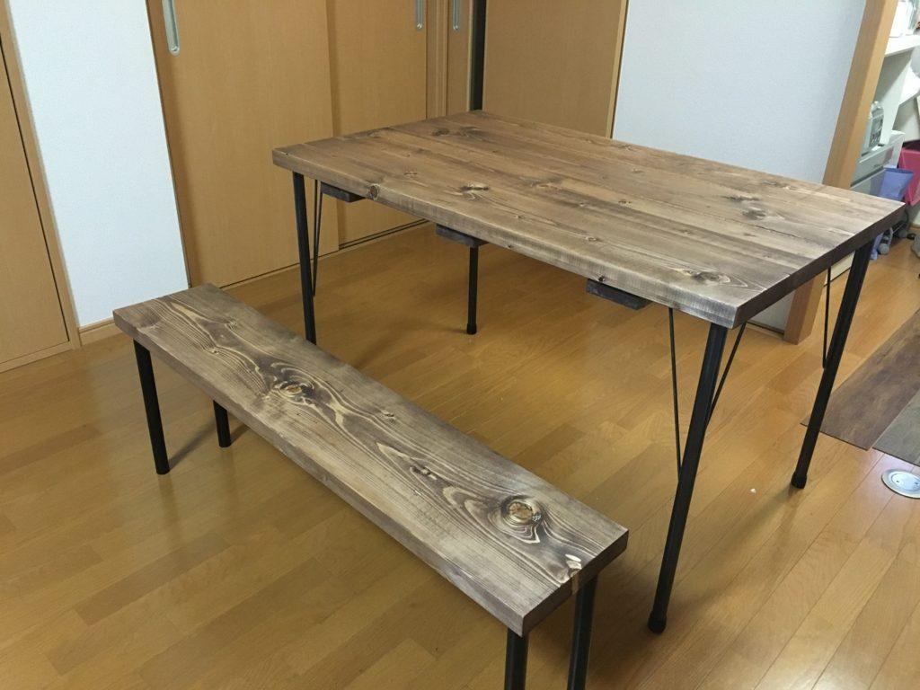 きみならわかるだろ。 さくらんさんが作ったダイニングテーブル&チェア