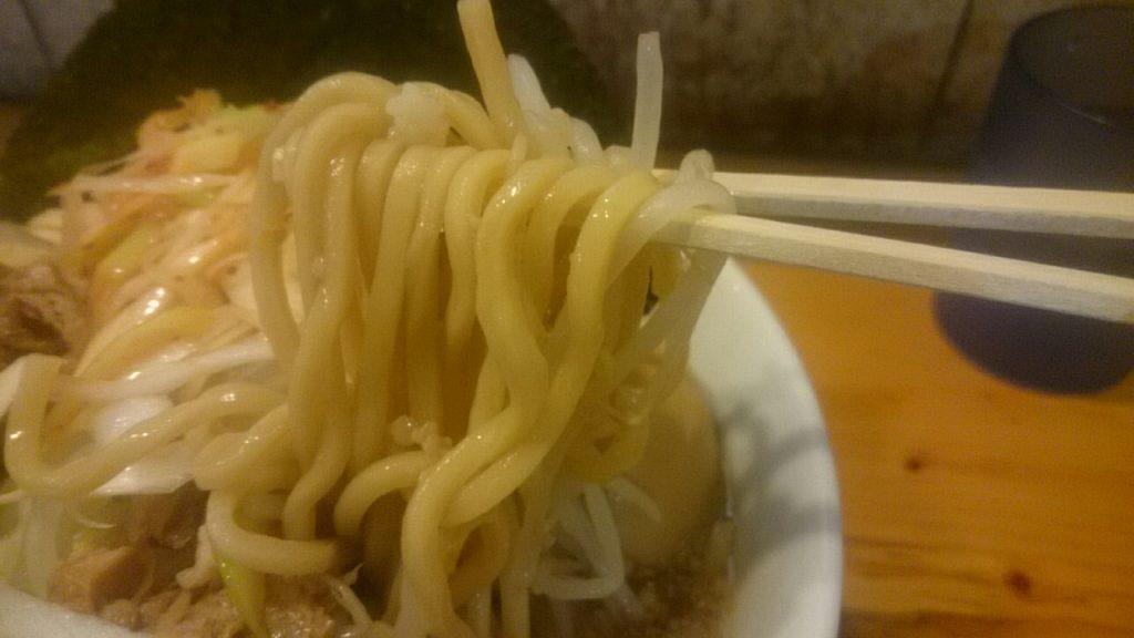 らーめん影武者 麺