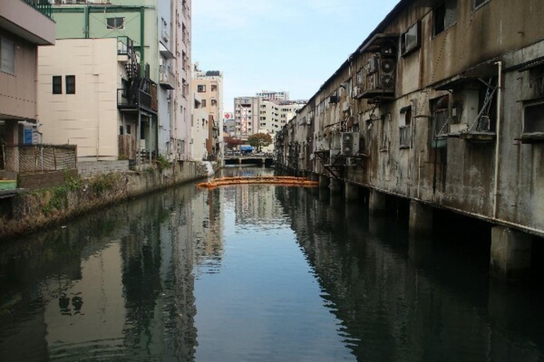 九州のベネチア、旦過市場の水上建築