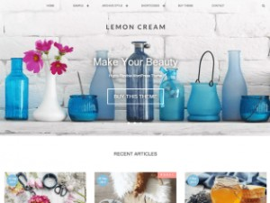 WordPressテーマ「Lemon Cream」