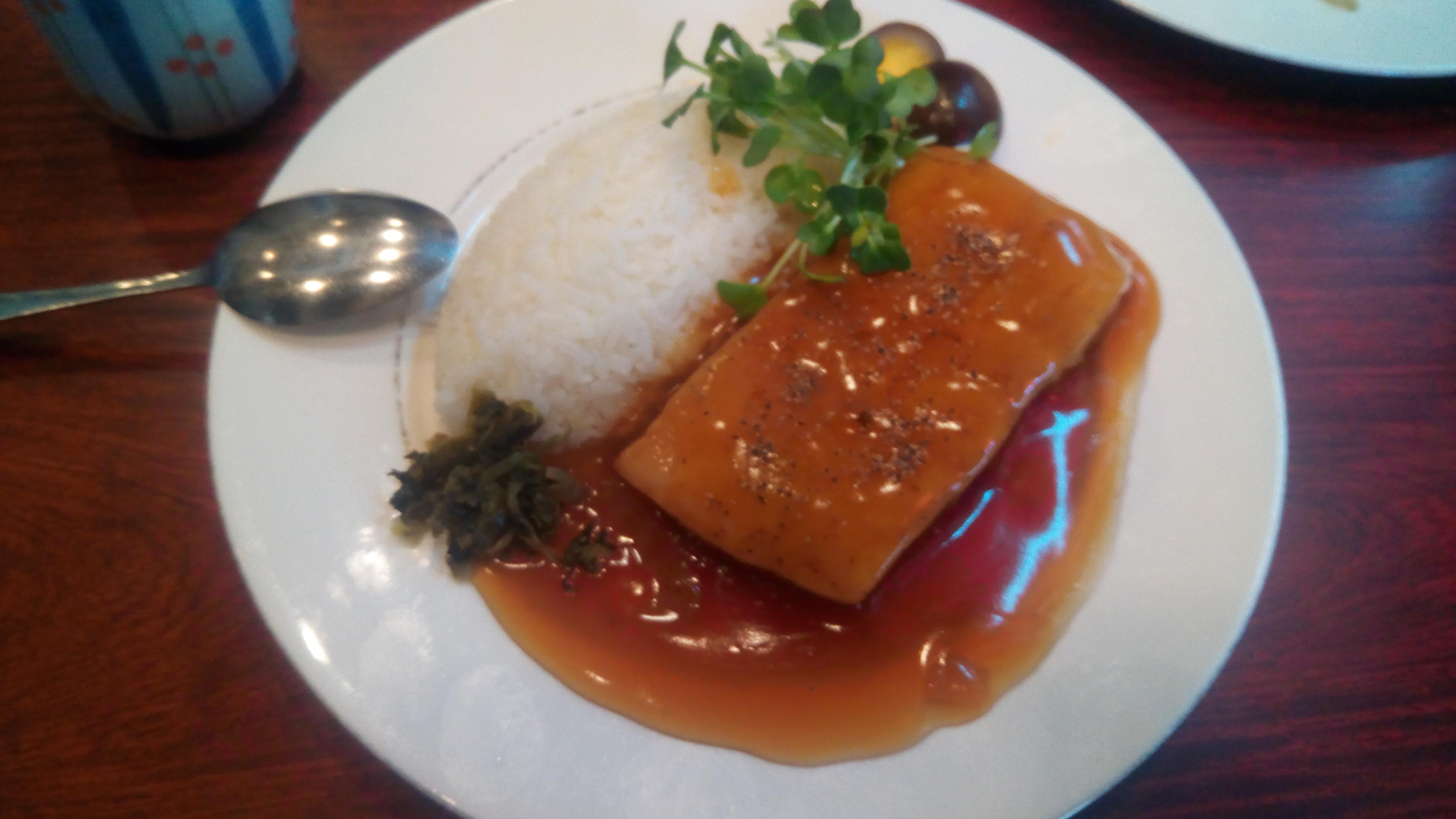 「台湾」の角煮定食