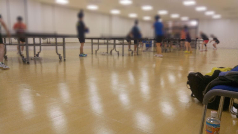 卓球大会に参加!