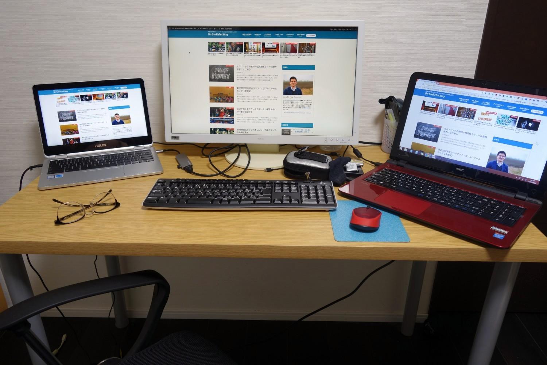 Chromebookの仮想デスクトップ環境が完成
