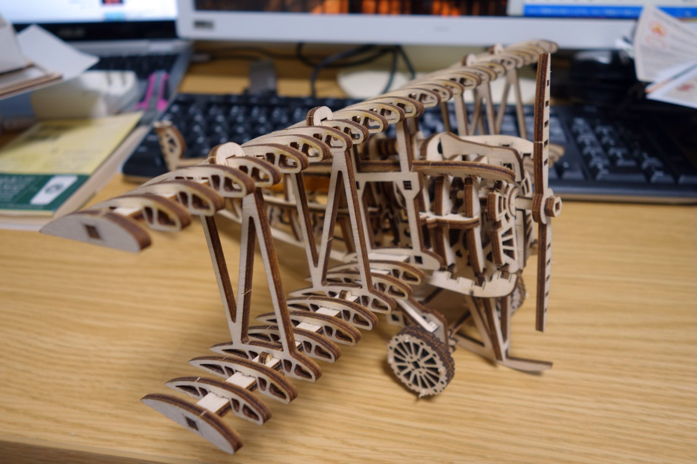Wood Trickの木製3Dパズル