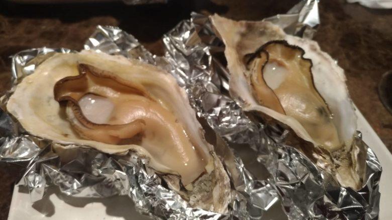 牡蠣の姿焼き