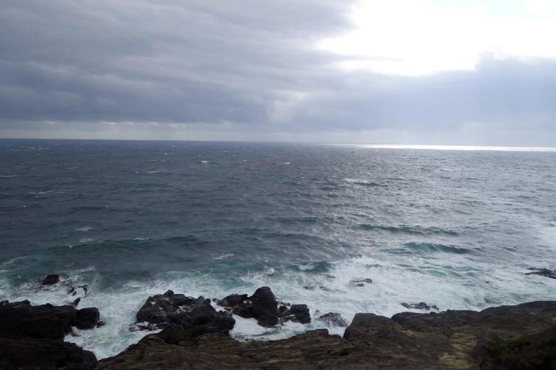 太平洋を望む城ヶ島