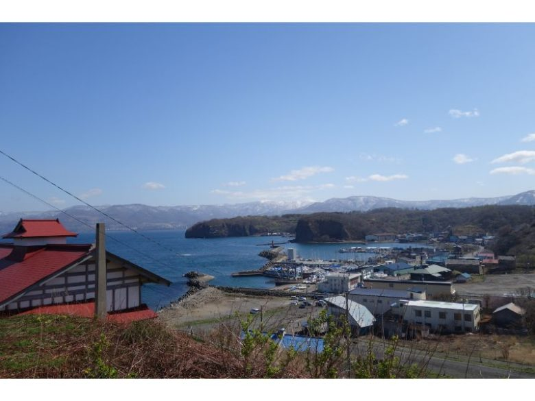 日和山灯台から見える海の景色