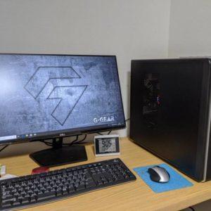 新しいパソコンを購入しました【TSUKUMO G-GEAR】